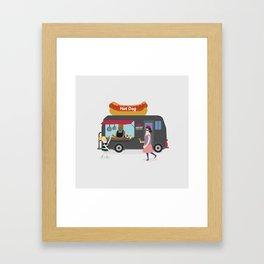 Relish the moment Framed Art Print