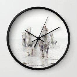 Ghost Riders - Horse Art Wall Clock