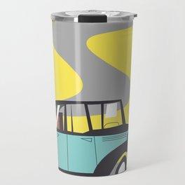 vintage car cartoon Travel Mug