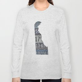 Vintage Delaware Long Sleeve T-shirt
