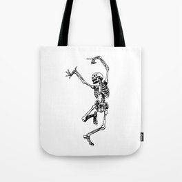 DANCING SKULL Tote Bag
