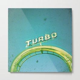 Turbo Metal Print