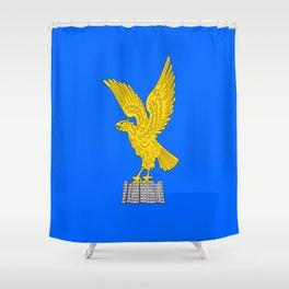 flag of friuli Shower Curtain