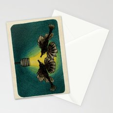 Sea Moths Stationery Cards
