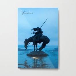 Tired warrior Metal Print