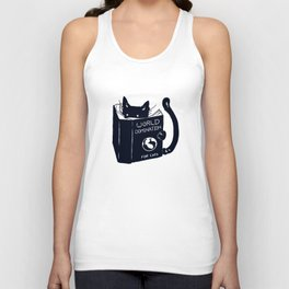 World Domination For Cats Unisex Tank Top