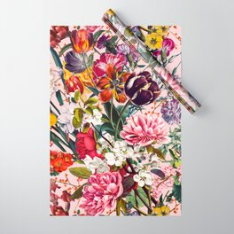 Exotic Garden - Summer Wrapping Paper