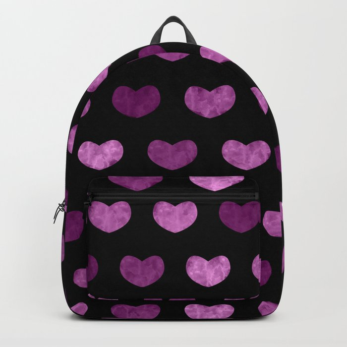 Colorful Cute Hearts VI Backpack