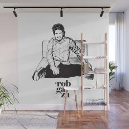 Rob Garza - Thievey Corporation Wall Mural