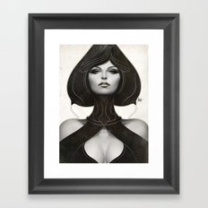Pepper Spade Framed Art Print