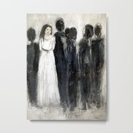 shadow figures Metal Print