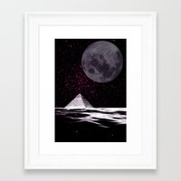 ufo Framed Art Prints featuring ufo by sustici