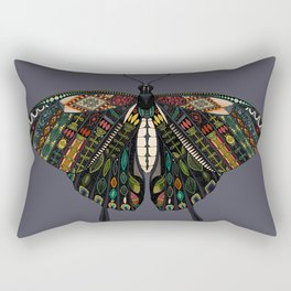 swallowtail butterfly dusk Rectangular Pillow