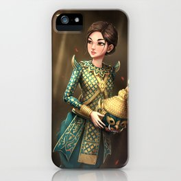 Khmer Masked Dance iPhone Case