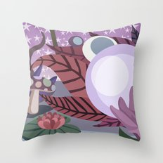 Moonlighting Throw Pillow
