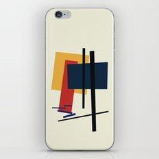 Tribute to K. Malevich (n.1) iPhone & iPod Skin