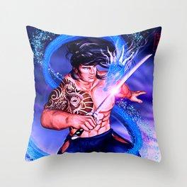 Samurai Kyrai Throw Pillow