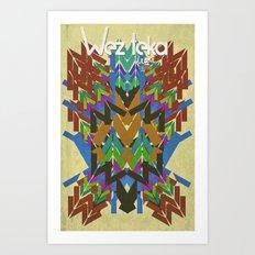 Fall FEAST! Art Print