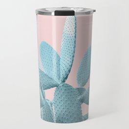 Blush Cactus #1 #plant #decor #art #society6 Travel Mug
