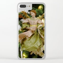 Angel 11. Clear iPhone Case