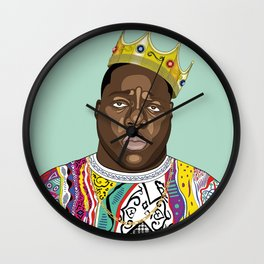 Biggie, notorious BIG Wall Clock