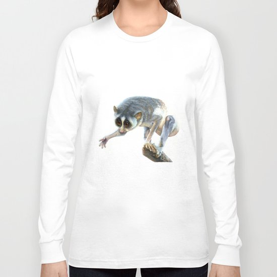 Slender Loris Long Sleeve T-shirt