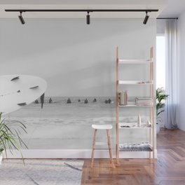 catch a wave II Wall Mural
