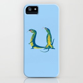Moana and Goanna 21 iPhone Case