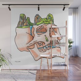 Mountain Fresh Hair: Halong Bay Wall Mural