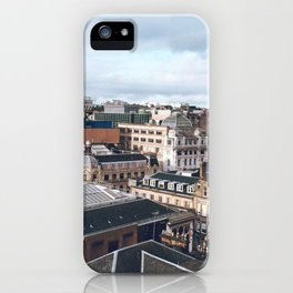 The Rooftops of Glasgow iPhone Case