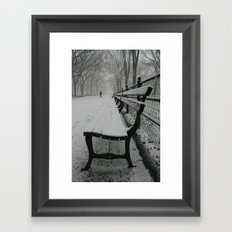 Have A Seat Framed Art Print