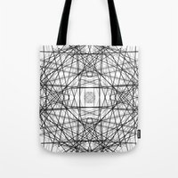 code Tote Bags featuring Code 2 by Dood_L
