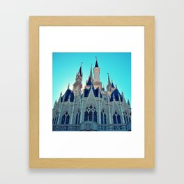 Castle Architecture Closeup 1 Framed Art Print