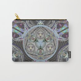 Indra's Web of Time and Soul Origin Visionary Mandala Carry-All Pouch