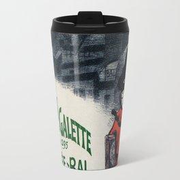 Moulin De La Galette 1896 Paris Travel Mug