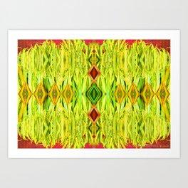 Tiki Hut Art Print