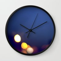 bokeh Wall Clocks featuring Bokeh... by belkat