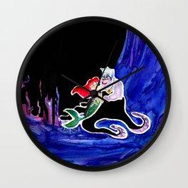Ariel & Ursula Wall Clock