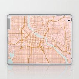 Minneapolis map, Minnesota Laptop & iPad Skin