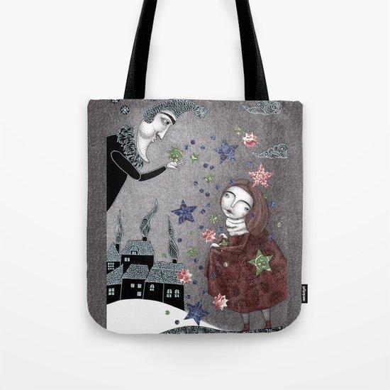 Snow Stars Fine, Snow Stars Mine Tote Bag