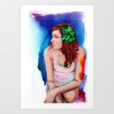 A New Dawn Digital Painting Art Print