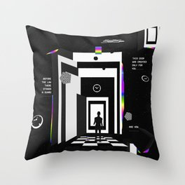 Before the Law Throw Pillow