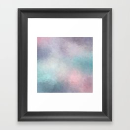 Dreaming in Pastels Framed Art Print