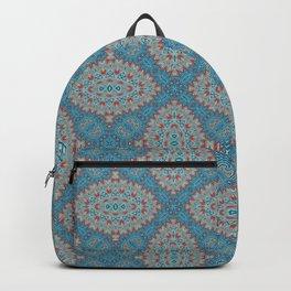 Tribal Tile Blue Backpack