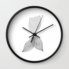 Tail Wall Clock