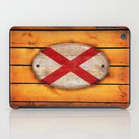 alabama iPad Cases featuring Alabama flag. by DesignAstur