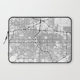 Minimal City Maps - Map Of Denver, Colorado, United States Laptop Sleeve