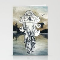 ghost Stationery Cards featuring Ghost by Steven Bossler