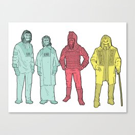 Your Favorite Apes Canvas Print
