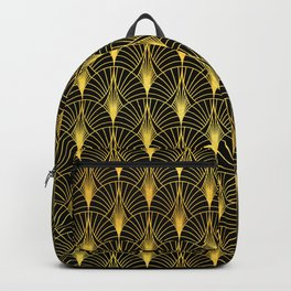Berlin Art Deco Ornate Pattern Backpack